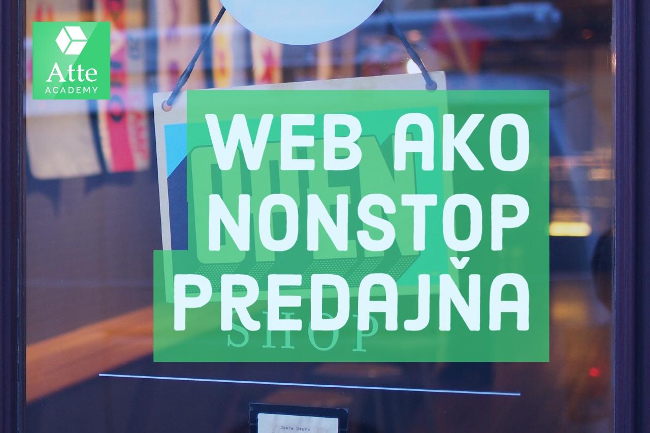 Web ako nonstop predajňa